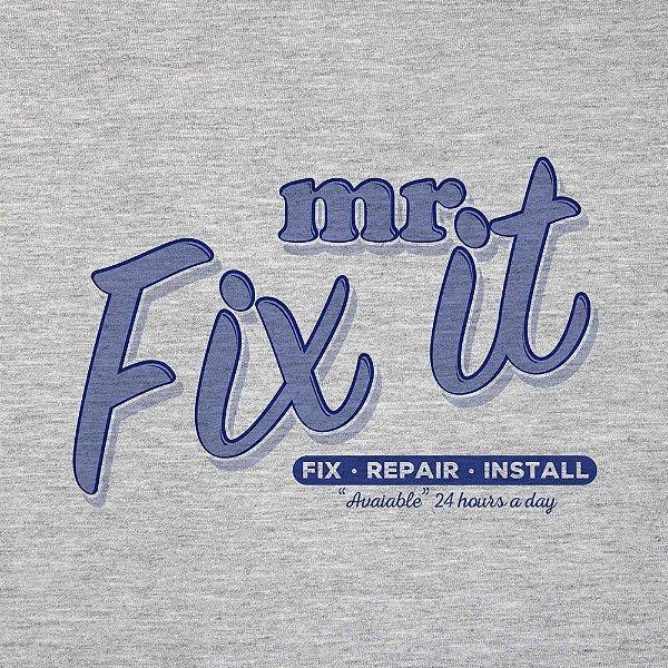 Mr. Fix It - Camiseta Clássica Masculina