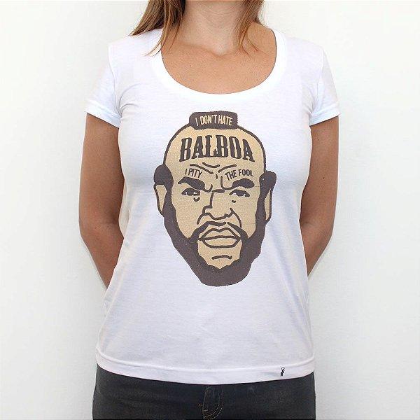 Mr. T. - Camiseta Clássica Feminina