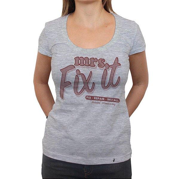 Mrs. Fix It - Camiseta Clássica Feminina