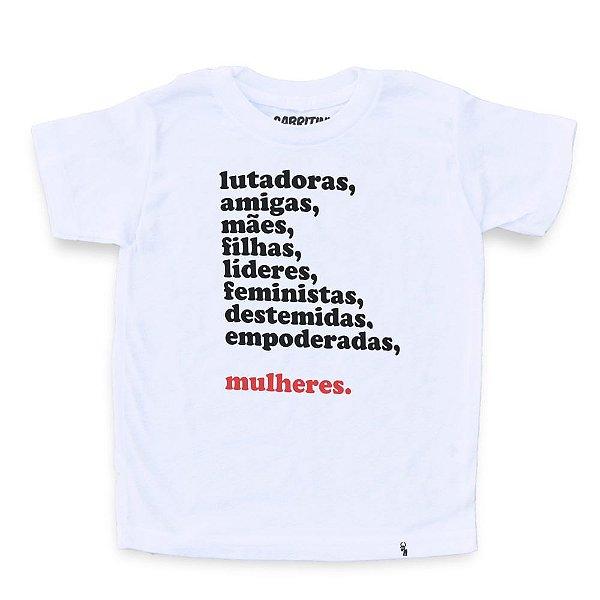 Mulheres - Camiseta Clássica Infantil