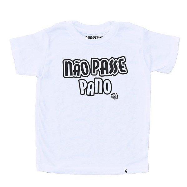 Não Passe Pano - Camiseta Clássica Infantil