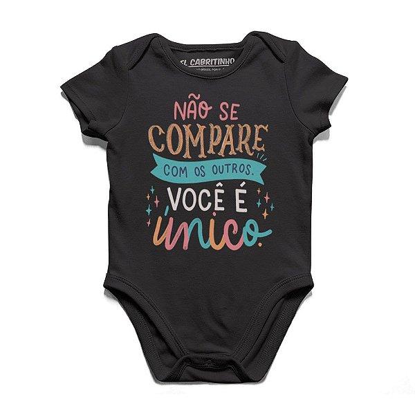 Não Se Compare Com os Outros - Body Infantil