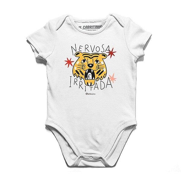Nervosa e Irritada - Body Infantil