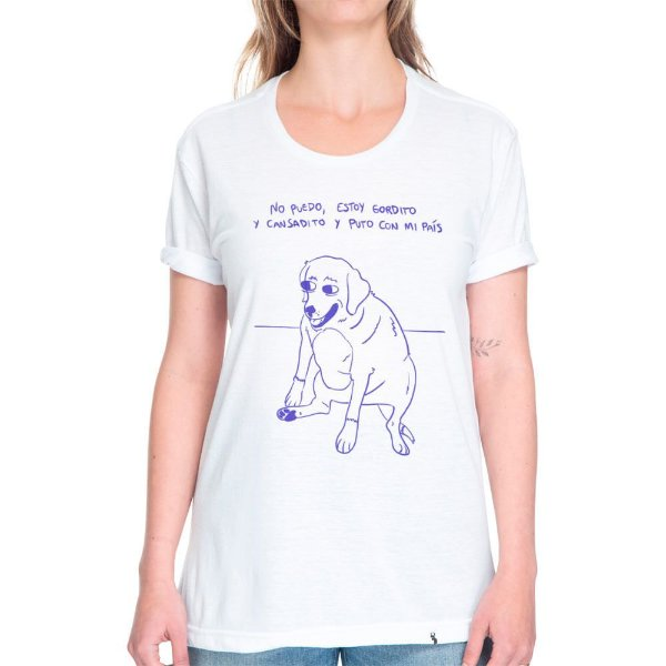 No Puedo Estoy Gordito - Camiseta Basicona Unissex