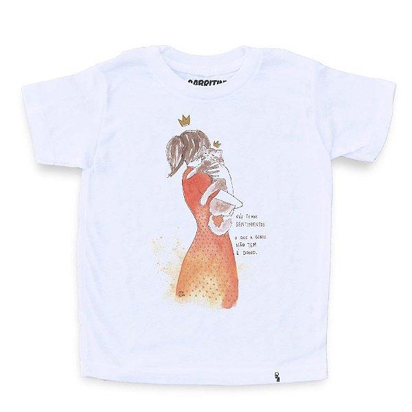 Nós Temos Sentimentos - Camiseta Clássica Infantil