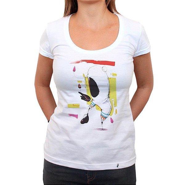 O Astronauta - Camiseta Clássica Feminina