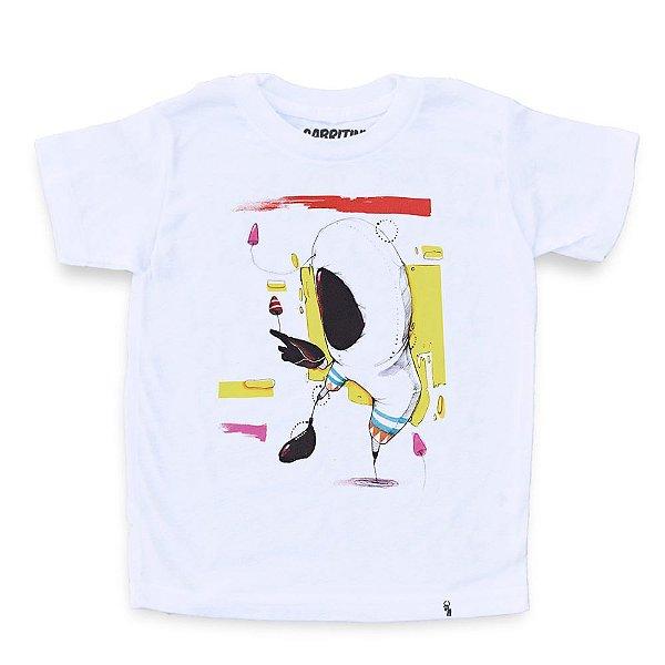 O Astronauta - Camiseta Clássica Infantil