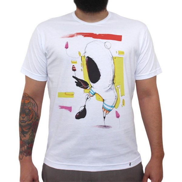 O Astronauta - Camiseta Clássica Masculina