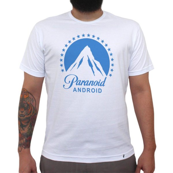 Paranoid Android - Camiseta Clássica Masculina