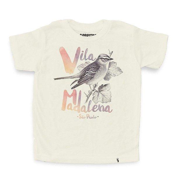 Passarinho Madalena - Camiseta Clássica Infantil