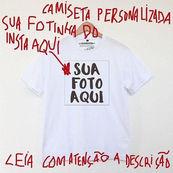 Personnalite - Camiseta Basicona Unissex
