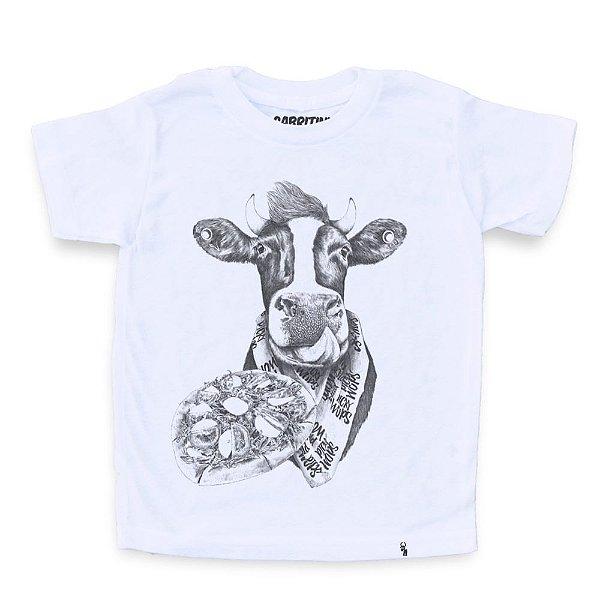 Picky Moo - Camiseta Clássica Infantil