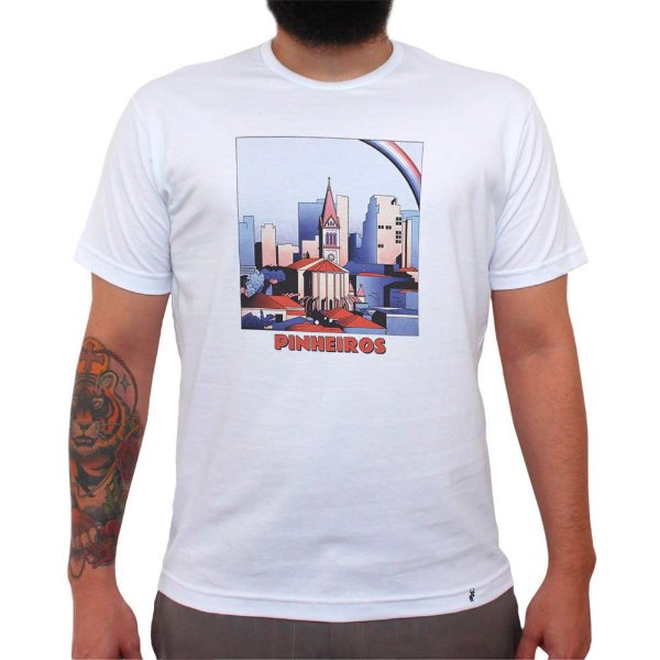 Pinheiros - Camiseta Clássica Masculina