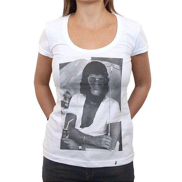 Planet of Apes Behind The Scenes - Camiseta Clássica Feminina
