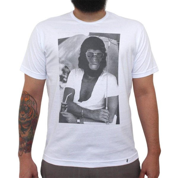 Planet of Apes Behind The Scenes - Camiseta Clássica Masculina
