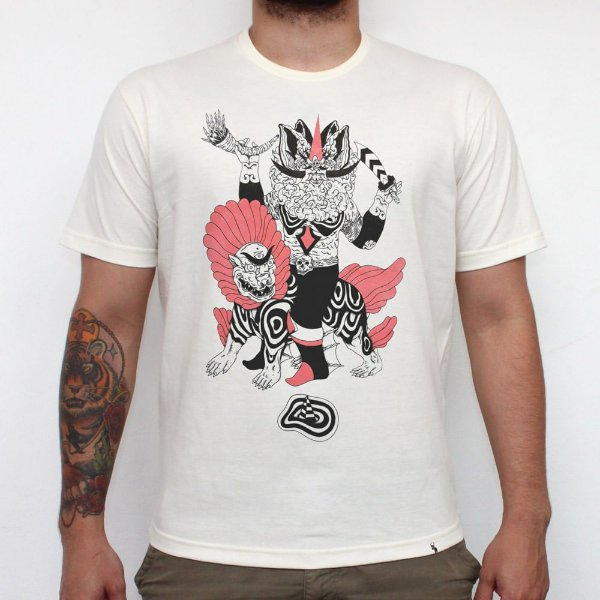 Pressagio Negro - Camiseta Clássica Masculina