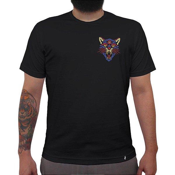 RadicalAnimal#01 - Camiseta Clássica Masculina