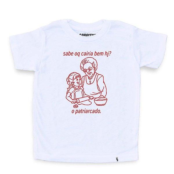 sabe oq cairia bem hj? - Camiseta Clássica Infantil