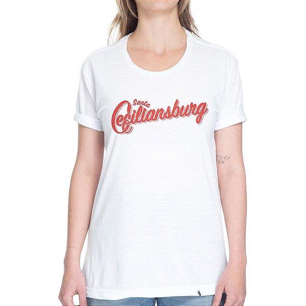 Santa Ceciliansburg - Camiseta Basicona Unissex