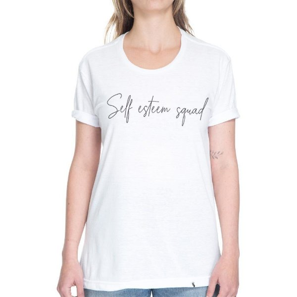 Self Steem Squad - Camiseta Basicona Unissex
