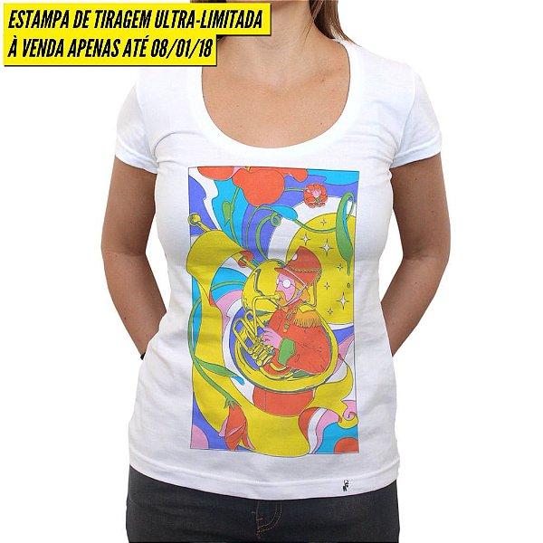 Shape of Sound - Camiseta Clássica Feminina