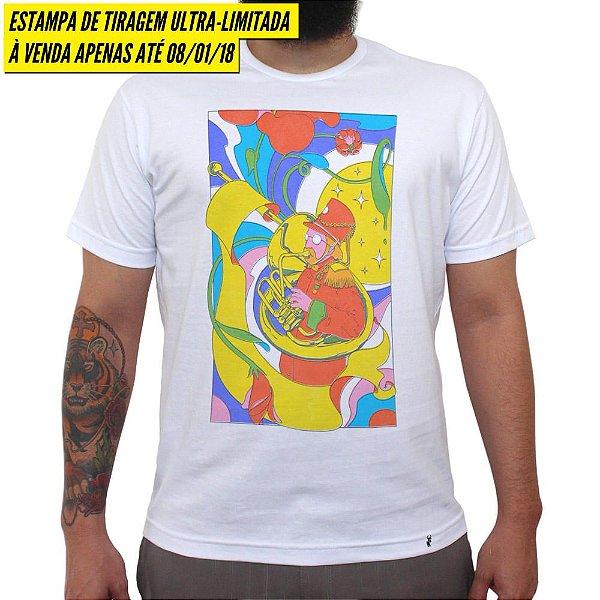 Shape of Sound - Camiseta Clássica Masculina