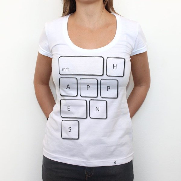 Shift Happens - Camiseta Clássica Feminina