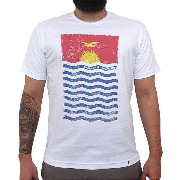 Silêncio, Paciência e Tempo - Camiseta Clássica Masculina