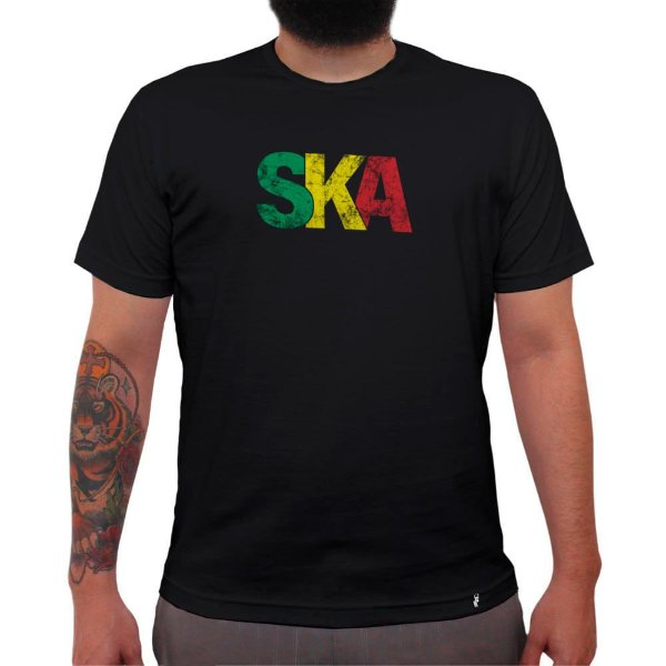 SKA - Camiseta Clássica Masculina