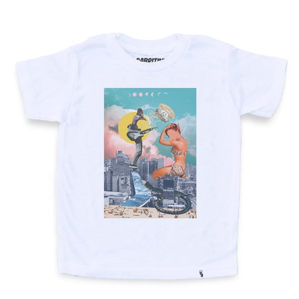 Skatin SP - Camiseta Clássica Infantil