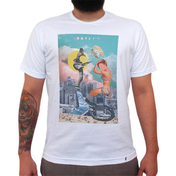 Skatin SP - Camiseta Clássica Masculina