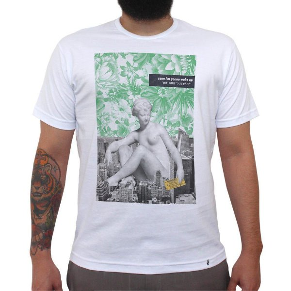 Soon Im Gonna Wake Up - Camiseta Clássica Masculina