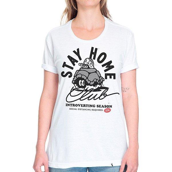 Stay Home #cestabasica - Camiseta Basicona Unissex