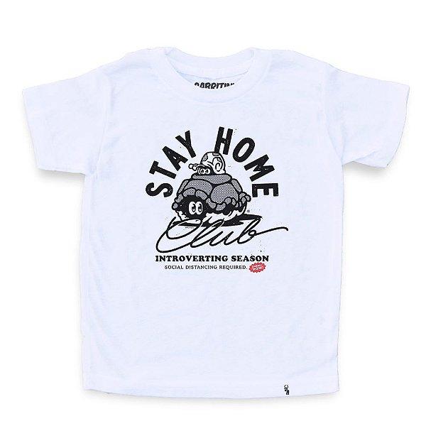 Stay Home - Camiseta Clássica Infantil