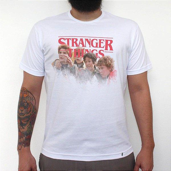 Stranger Goonies - Camiseta Clássica Masculina
