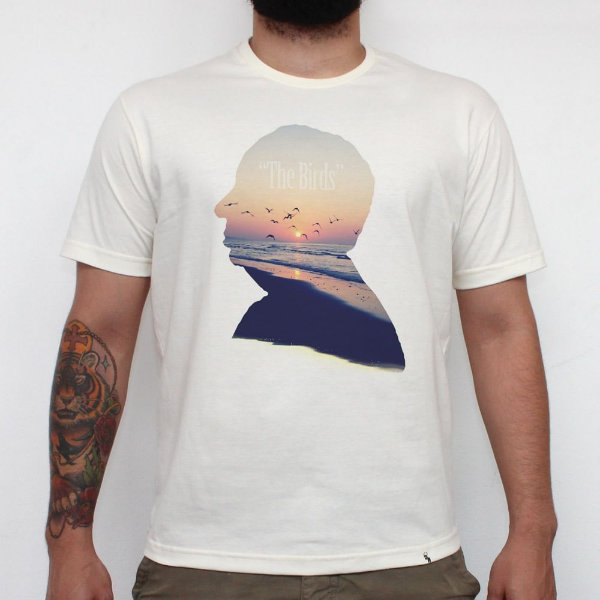 Summer Birds - Camiseta Clássica Masculina