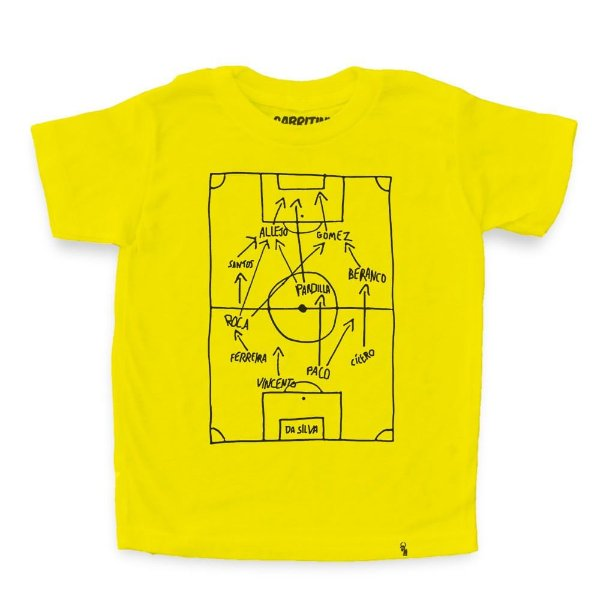 Super Star Soccer Deluxe - Camiseta Clássica Infantil