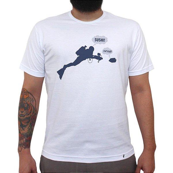 Sushi - Camiseta Clássica Masculina