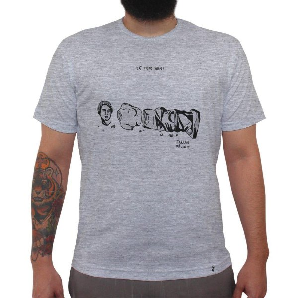 Tá Tudo Bem - Camiseta Clássica Masculina