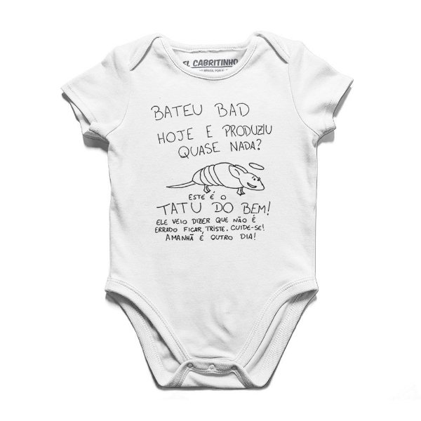 Tatu Do Bem - Body Infantil