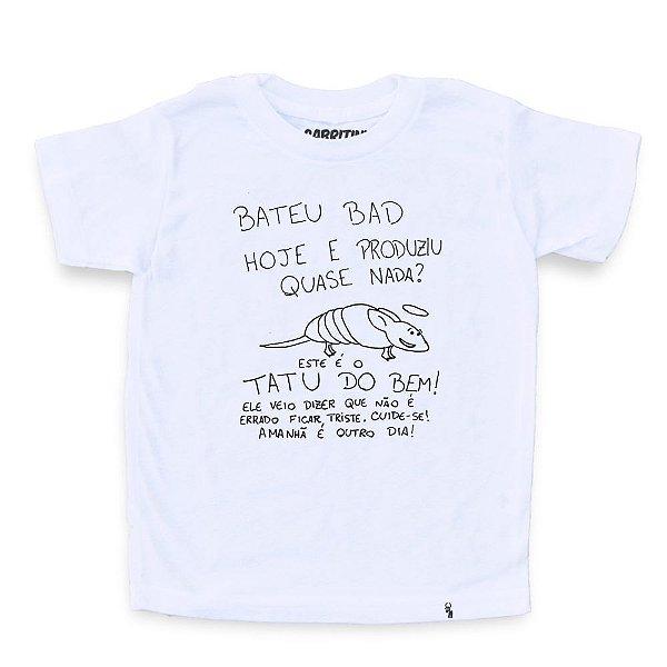 Tatu Do Bem - Camiseta Clássica Infantil