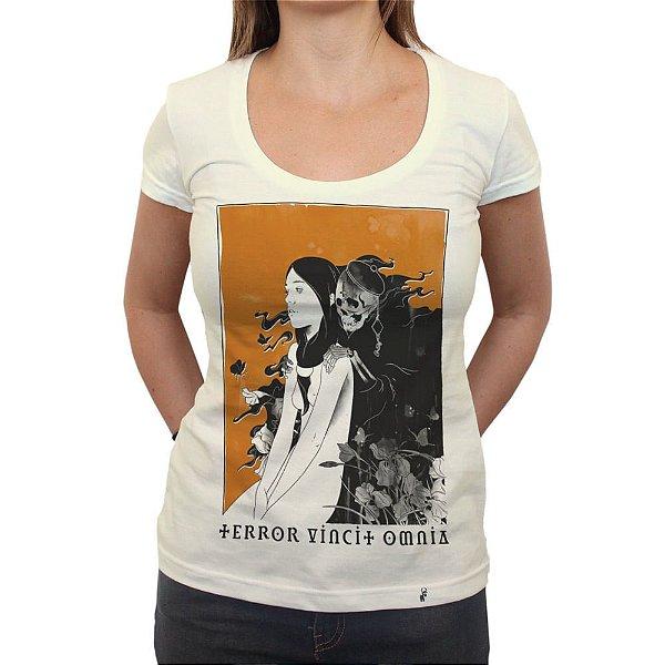 Terror Vincit Omnia - Camiseta Clássica Feminina
