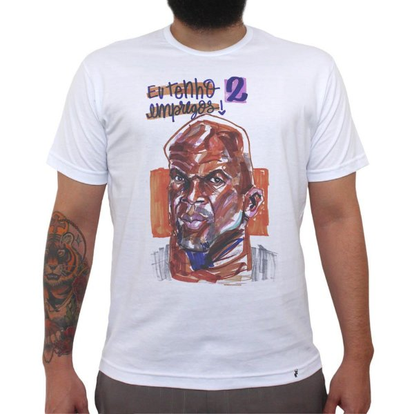 Terry Crews - Camiseta Clássica Masculina