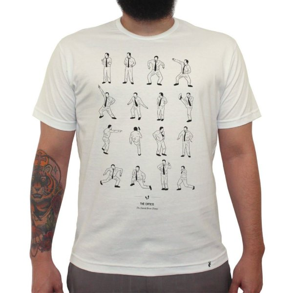 The Office - David Brent Dance - Camiseta Clássica Masculina