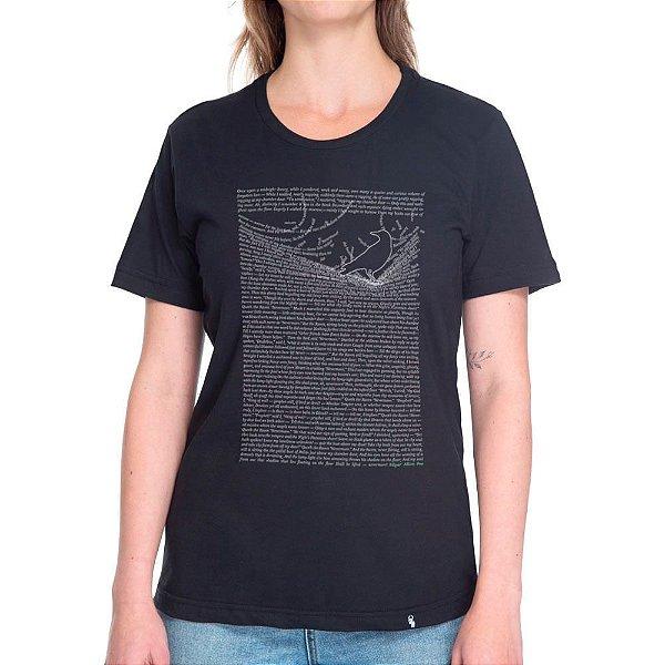 The Raven by Edgar Allan Poe - Camiseta Basicona Unissex