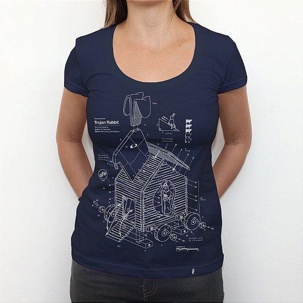 Trojan Rabbit White - Camiseta Clássica Feminina