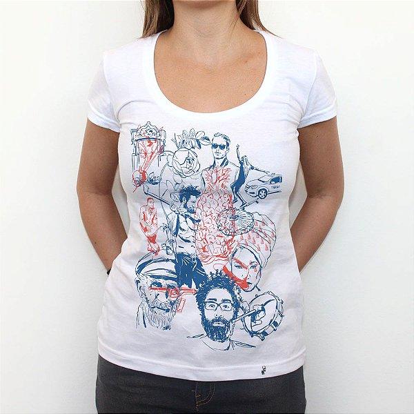 Tudo Junto - Camiseta Clássica Feminina