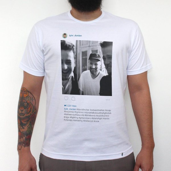 Tyler Durden - Camiseta Clássica Masculina