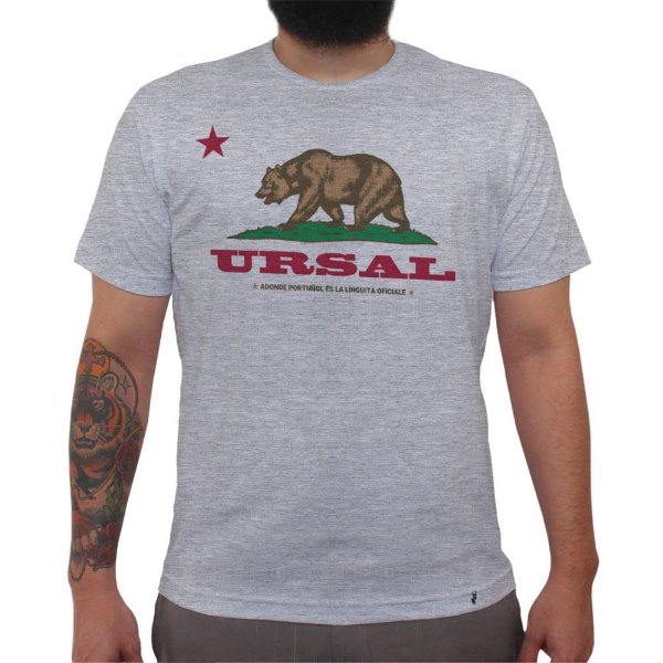 URSAL - Camiseta Clássica Masculina