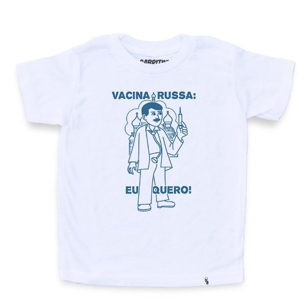 Vacina Russa - Camiseta Clássica Infantil